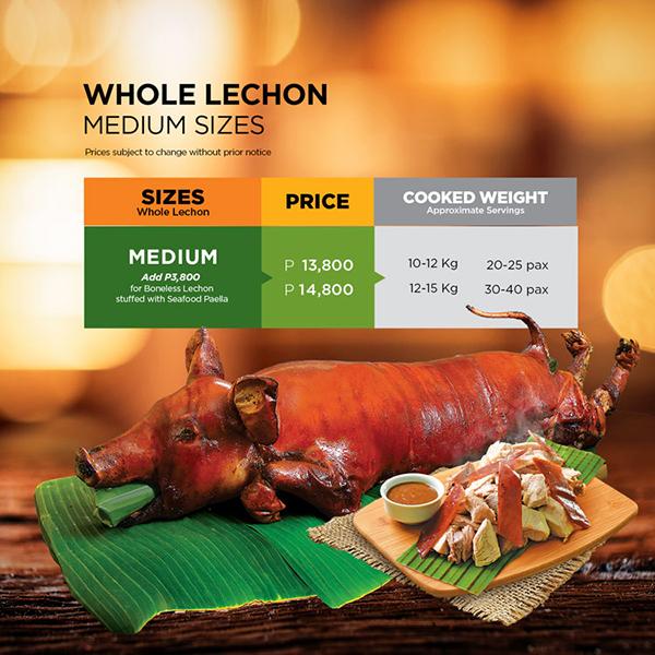 Whole Lechon (Medium)