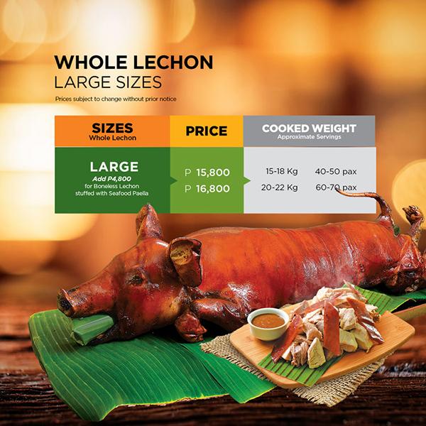 Whole Lechon (Large)