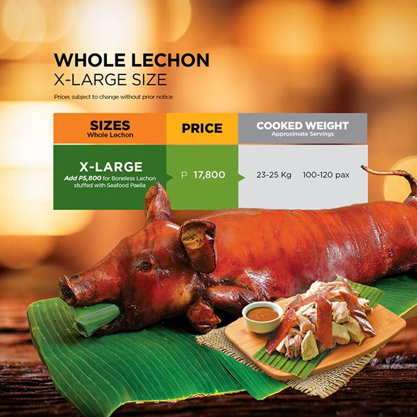 Whole Lechon (X-Large)